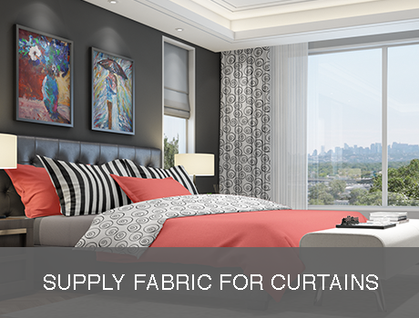 Supply Own Fabric Curtains