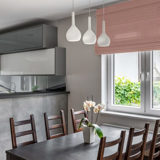 blinds luxe salmon
