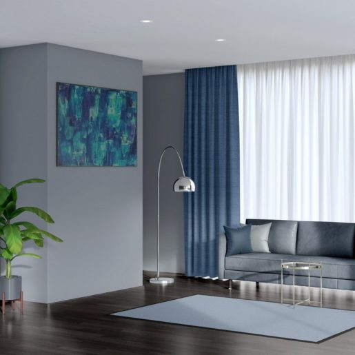 ready made curtains luxe sapphire