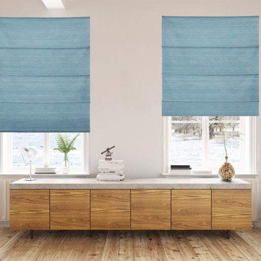 roman blinds luxe spa