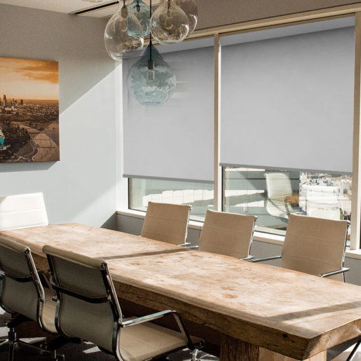 blockout roller blind scribe pure